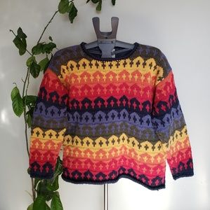Las Americas Cotton Toronto made sweater